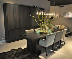 Keijser & Co op ETC Expo | EliteNL | Wallpaper Wonder World | foto WH Belgian Style, Architect Design, Luxury Living, Dining Table, Dining Rooms, Interior Design, House, Furniture, Home Decor