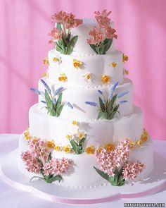 Wedding Cakes   Martha Stewart Weddings