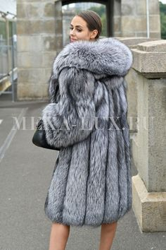Fur Coat Fashion, Fox Fur Coat, Style Guides, Sexy Women, How To Wear, Clothes, Fur Jackets, Chinchilla, Shoes