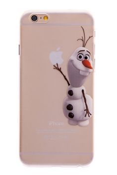 Olaf Transparent Back Cover Case for iPhone 6 Plus