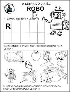 Pequenos Grandes Pensantes.: Atividades Inéditas - Família Silábica do R.
