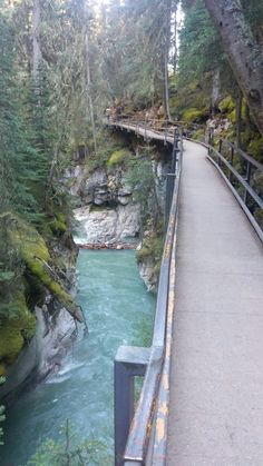 Johnston Canyon, River, Outdoor, Outdoors, Rivers, Outdoor Games