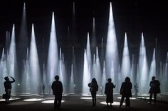 20 of the World's Best Building Images Shortlisted for Arcaid Awards 2016,Photographer: Laurian Ghinitoiu - Building: 'Forest of Light' for COS, Salone del Mobile, Milan, Italy / Sou Fujimoto Architects. Image via Arcaid Images