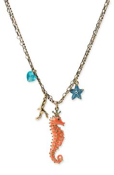 Whimsicalities: Nautical Jewelry: Betsey Johnson's Under the Sea Collection