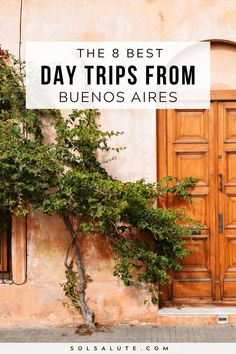 The 8 best day trips from Buenos Aires Argentina | The Best Buenos Aires day trips | Best estancias in Buenos Aires | Buenos Aires excursions | What to do in Buenos Aires | The best things to do in Buenos Aires | Where to go near Buenos Aires | What to do in Buenos Aires | Buenos Aires itinerary ideas | Day Trips Buenos Aires | Cool Buenos Aires activities | Argentina day trips | Tigre Buenos Aires | Buenos Aires day trip to Uruguay | Uruguay day trip from Buenos Aires #BuenosAires… Argentina Travel, Peru Travel, Machu Picchu, Bolivia, Ecuador, Patagonia, Amazing Destinations, Travel Destinations, Oregon