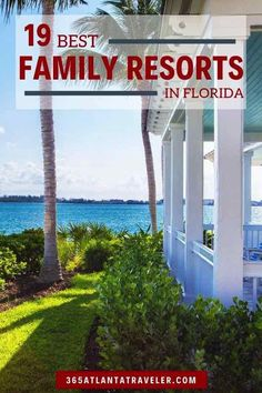 19 Best Resorts In Florida- Heading to the Sunshine State? Before you book your family vacation, take a look at the list of best resorts in Florida. These family-friendly hotels have the perks that kids will love...and amenities parents can't live without. From all-inclusive to best beaches on each FL coast...and from Orlando to the Keys, these are the best of the best selections for families. #Florida #besthotels   #bestresorts #familytravel