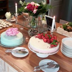 Rippijuhlien kakkubuffet