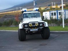 Iceland Land Rover