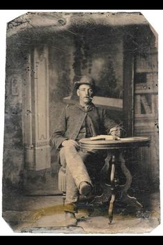 Possible Civil War Soldier Tintype ~ This man in the photograph looks identical to a Civil War reenactor & Freemason who my boyfriend was good friends with. He died of cancer not long ago, so I would love to have this photo, so we could give it to his family!