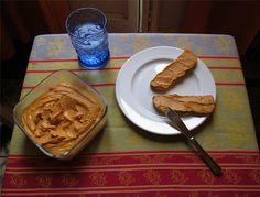 Milerenda: Paté vegetal de berenjena y pimiento