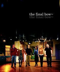 Friends final bow :( still sad!