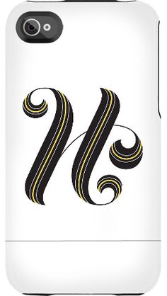 H by Jessica Hische for iPhone 4/4S Capsule