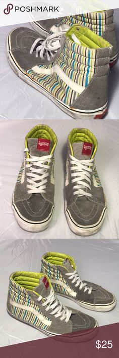 Vintage Classic High Top Vans Men s Size 9.5 Up for sale is a preowned  Vintage Classic 1076ff2e6