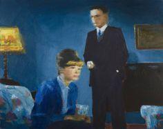 "Saatchi Art Artist David Storey; Painting, ""'Blue Room 3' SOLD"" #art"
