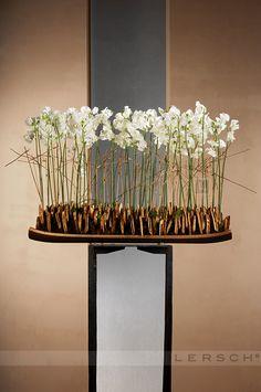 Centerpiece Decorations, Decoration Table, Floral Centerpieces, Flower Decorations, Ikebana Flower Arrangement, Beautiful Flower Arrangements, Floral Arrangements, Art Floral, Gregor Lersch