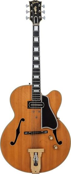 Musical Instruments:Electric Guitars, 1960 Gibson L5-C Natural Archtop Electric Guitar, Factory OrderNumber R3912 2, Weight: 7 lbs....