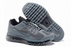 Nike Air Max 2013 Breathe malla gris / negro http://www.esnikerun.com/