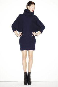 $519 830 Sign dress/high-neck sweater  http://www.flooly.com/us/830sign-women-high-neck-shirt/13898