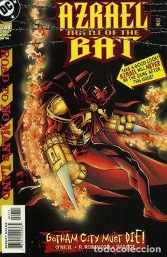 Azrael Dc Comics, Comic Book Covers, Comic Books, Angel Of Vengeance, Pauls Valley, No Mans Land, Batman Vs, American Comics, Nightwing