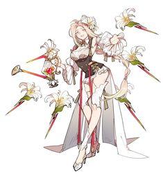 Female Character Design, Character Creation, Character Design Inspiration, Character Concept, Character Art, Concept Art, Pixiv Fantasia, Creature Design, Anime Art Girl
