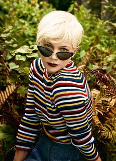 Michelle Williams photographed by Ryan McGinley for Porter Magazine (2016)