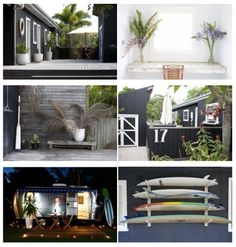 Atlantic Guesthouse Byron Bay Outdoor Rooms, Outdoor Furniture Sets, Outdoor Decor, The Atlantic Byron Bay, Cottage Lounge, Inside Outside, Decks And Porches, Inspired Homes, Coastal Living