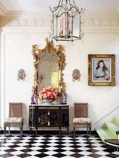 Glamorous Spaces / Michael Taylor legendary interior designer.
