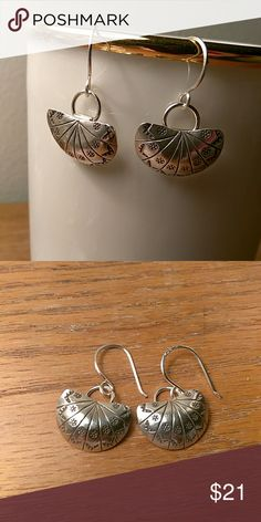 Sterling Silver Decorative Earrings Fun earrings that goes with pretty much everything Jewelry Earrings