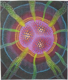 Betty Busby, Albuquerque, ,NM. Push, in Quilt Visions in Oceanside, Ca, has been sold from the show to a private collector.