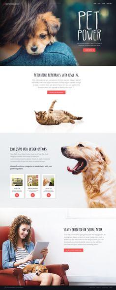 Pet Websites, Web Design Websites, Web Design Tips, Dog Design, Layout Site, Web Layout, Layout Design, Magazine Design, Web Animal