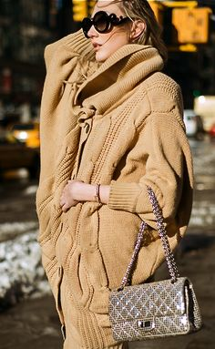 Sweater - Romwe, purse - Chanel
