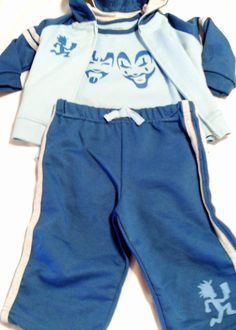 juggalette pants | piece blue baby boy outfit