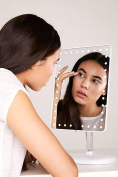 Impressions Vanity Touch Pro Bluetooth Make-Up Mirror Beauty Hacks Video, Beauty Tutorials, Cool Tech Gifts, Healthy People 2020 Goals, Cool Phone Cases, Beauty Essentials, Travel Essentials, Save Energy, Gifts For Women