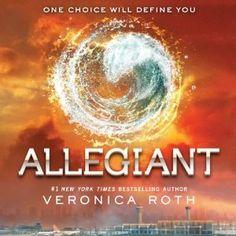 Book: Allegiant (Divergent series) // Gayleen (3/5/14) // playaway @ Metro Library