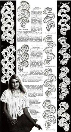 tape lace crochet