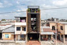 Architecture Office, Contemporary Architecture, Amazing Architecture, Architecture Details, Cultural Architecture, Ecuador, Vertical Gym, Archdaily Mexico, One Story Homes