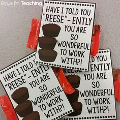 These Teacher Gift Tags are great to go along with Back to School gifts for your… #Valentinegifts