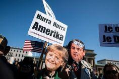 Berliinissä 10. lokakuuta pidetyssä mielenosoituksessa vastustettiin TTIP-sopimusta. Suomalaisista vain 11 prosenttia uskoo EU:n hyötyvän USA:ta enemmän sopimuksesta.