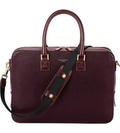 Aspinal of London Mount Street saffiano leather bag