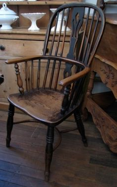 Windsor Chair - UK. I have a huge weakness for these!