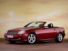 I just love this car!  Mercedes Benz SLK 320