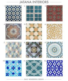 Where To Buy Cement Tiles | Tile patterns, Granada and Cement