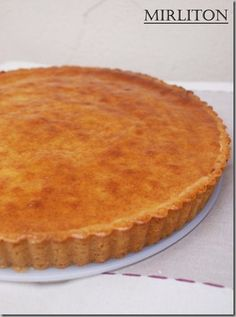 La fabuleuse tarte à l'ananas de C. Tart Recipes, Sweets Recipes, Cooking Recipes, Cake & Co, Pie Cake, Chefs, Thermomix Bread, Look And Cook, Desserts With Biscuits