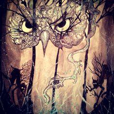 Gaurdian of the woods; ghost number 5-cmeisterartz