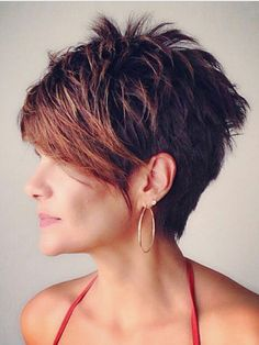 This category present you various trendy short hairstyles. You can find different trendy short haircuts and short trendy hairstyles. Cute Hairstyles For Short Hair, Pixie Hairstyles, Trendy Hairstyles, Fringe Hairstyles, Short Hair Long Bangs, Business Hairstyles, Fashion Hairstyles, Short Blonde, Wavy Hair
