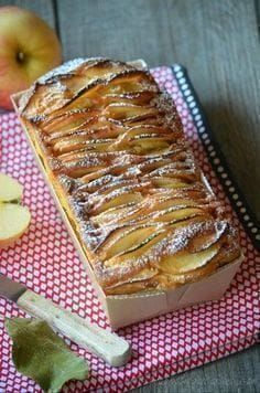 Here is a cake recipe that fits perfectly with apples. Apple Recipes, Fall Recipes, Sweet Recipes, Delicious Desserts, Dessert Recipes, Yummy Food, Food Cakes, Cupcake Cakes, Cooking Chef