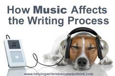 Music to help writing
