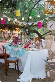 mad tea party 46a by A Fanciful Twist, via Flickr