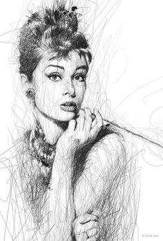 Vince Low - Audrey Hepburn