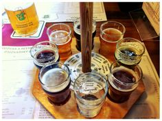 自家醸造のビール 8種類のフレーバービール サワーチェリービールがオススメ http://www.ntv.co.jp/anothersky/contents/2012/10/pivovarsky-dum-1.html